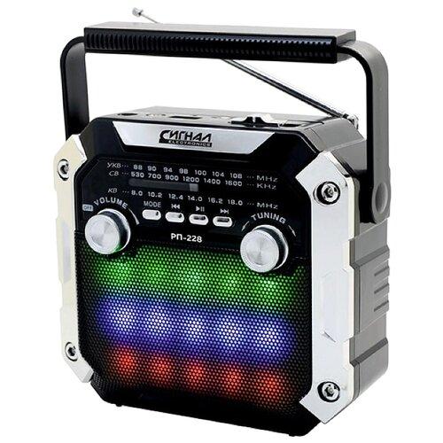 Фото - Радиоприемник СИГНАЛ ELECTRONICS РП-228 черный радиоприемник сигнал electronics рп 227
