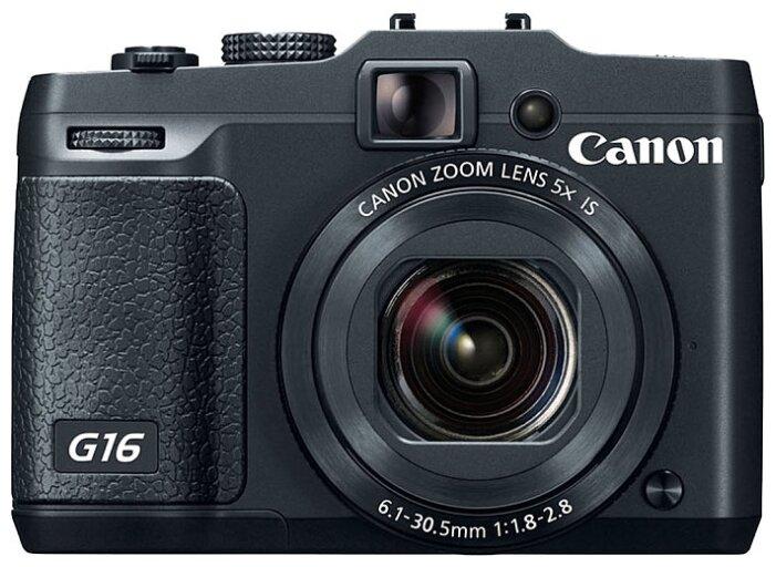 Компактный фотоаппарат Canon PowerShot G16