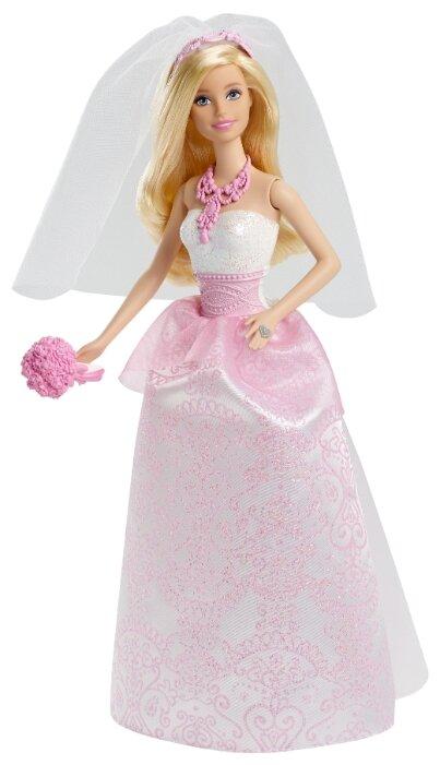 Кукла Barbie Невеста, 29 см, CFF37