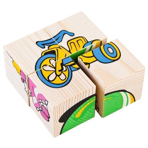 Кубики-пазлы Томик Игрушки 3333-3 кубики томик английский алфавит от 3 лет 12 шт 1111 2