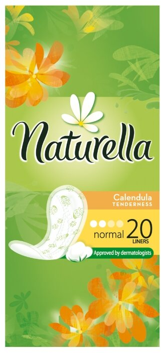 Naturella прокладки ежедневные Calendula Tenderness Normal daily