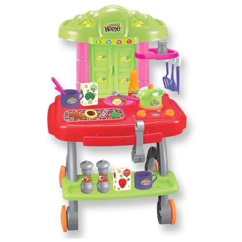 Купить Набор Altacto Летний пикник ALT0201-106 красный/зеленый/розовый/серый, Детские кухни и бытовая техника