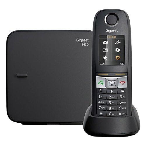 Радиотелефон Gigaset E630 черный  - купить со скидкой