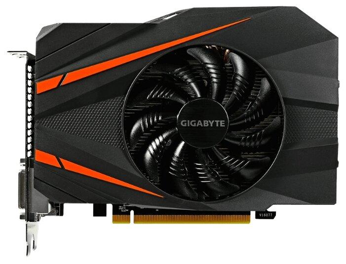 GIGABYTE Видеокарта GIGABYTE GeForce GTX 1060 1556MHz PCI-E 3.0 3072MB 8008MHz 192 bit 2xDVI HDMI HDCP