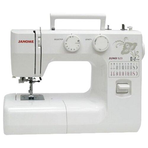Швейная машина Janome Juno 523, белый