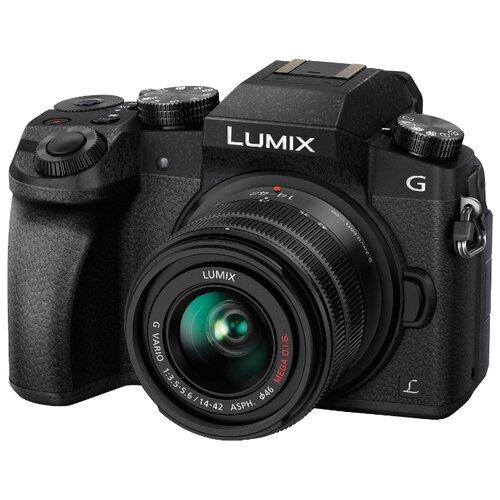 Фотоаппарат Panasonic Lumix DMC-G7 Kit черный 14-42mm f/3.5-5.6