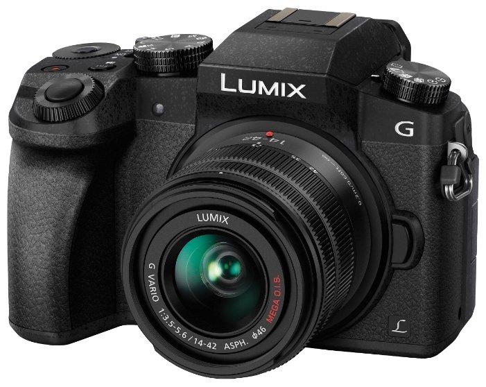 Panasonic Фотоаппарат со сменной оптикой Panasonic Lumix DMC-G7 Kit