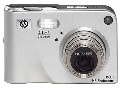 Фотоаппарат HP Photosmart R607