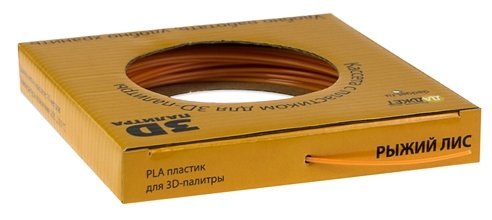 PLA пруток Даджет 1.75 мм оранжевый