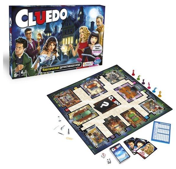 Настольная игра Hasbro games Клуэдо (обновленная) 38712