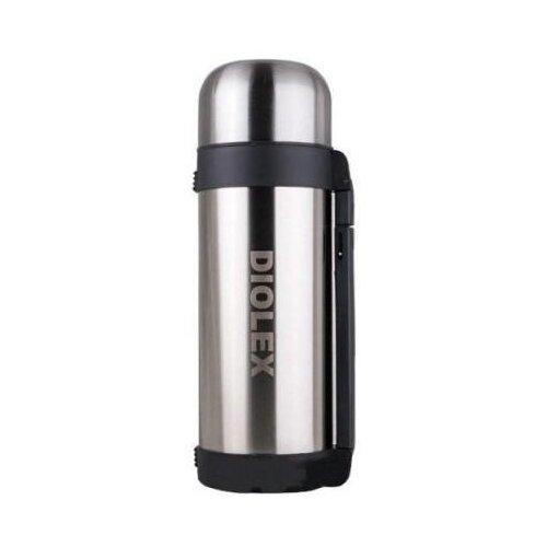 Классический термос Diolex DXH-1200-1, 1.2 л серебристый