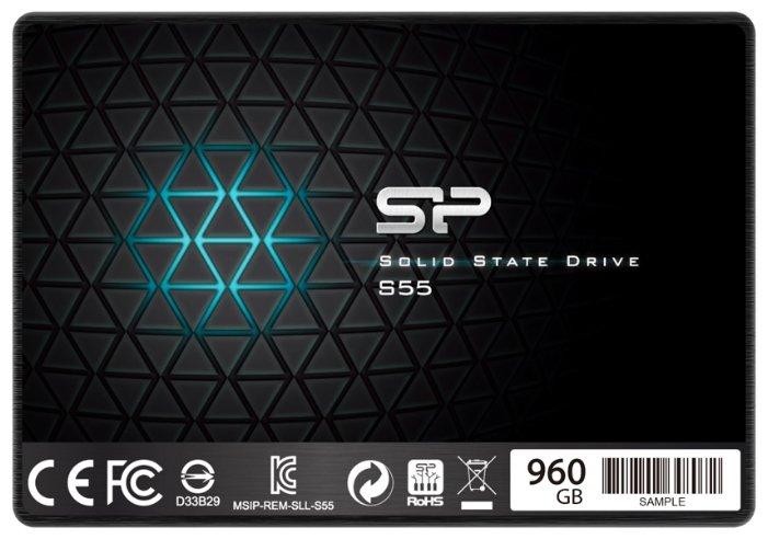 Твердотельный накопитель Silicon Power SP960GBSS3S55S25