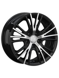 Колесный диск LS Wheels BY 701 6.5x15/5x114.3 D73.1 ET40 BKF - фото 1