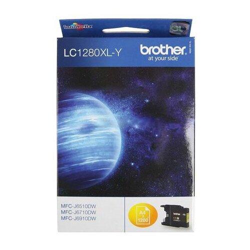 Фото - Картридж Brother LC-1280XLY картридж brother lc 665xlc