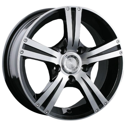 Колесный диск Racing Wheels H-326 8x18/5x114.3 D60.1 ET30 BK F/P