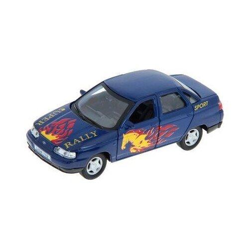 цена на Легковой автомобиль Autotime (Autogrand) Lada 110 супер ралли 1 (7867) 1:36 синий/желтый/красный