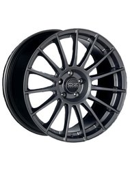 OZ Racing Superturismo LM 7,5x18 5x120 ET 47 Dia 79 (matt graphite silver) - фото 1