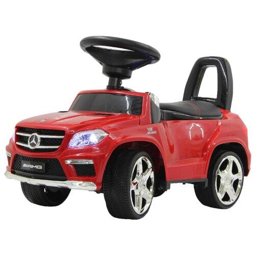 Купить Каталка-толокар RiverToys Mercedes-Benz A888AA со звуковыми эффектами красный, Каталки и качалки