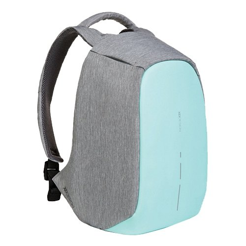 Рюкзак XD DESIGN P705.537 серый/бирюзовый