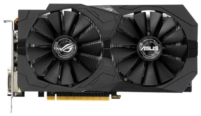 ASUS GeForce GTX 1050 1442Mhz PCI-E 3.0 2048Mb 7008Mhz 128 bit 2xDVI HDMI HDCP Strix OC Gaming