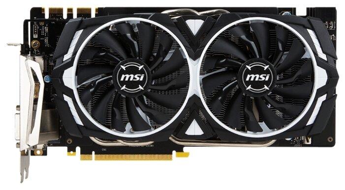 MSI GeForce GTX 1070 1556Mhz PCI-E 3.0 8192Mb 8008Mhz 256 bit DVI HDMI HDCP