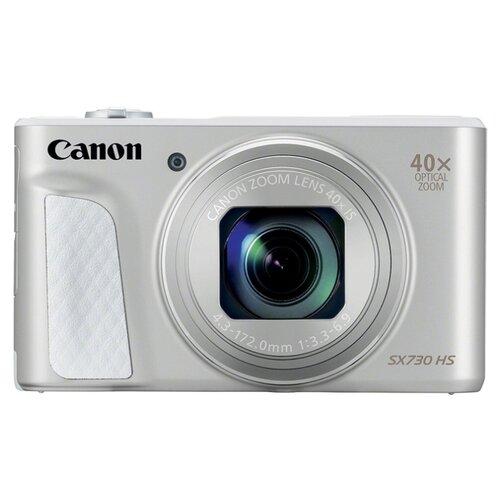 Фото - Фотоаппарат Canon PowerShot SX730 HS серебристый фотоаппарат canon powershot sx70 hs черный