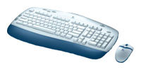 Клавиатура и мышь Logitech Cordless Desktop Express White PS/2
