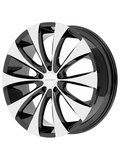 KMC 8,5x20/5x115 ET15 D72,62 KM679 Black/Machined - фото 1