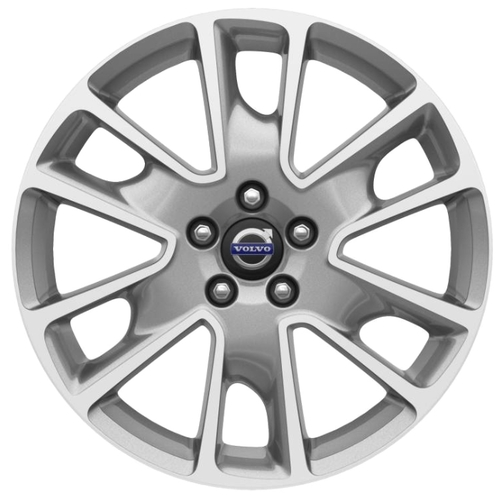 Колесный диск Volvo Freja 8x18/5x108 D63.3 ET55 Diamond cut/Dark Grey matt