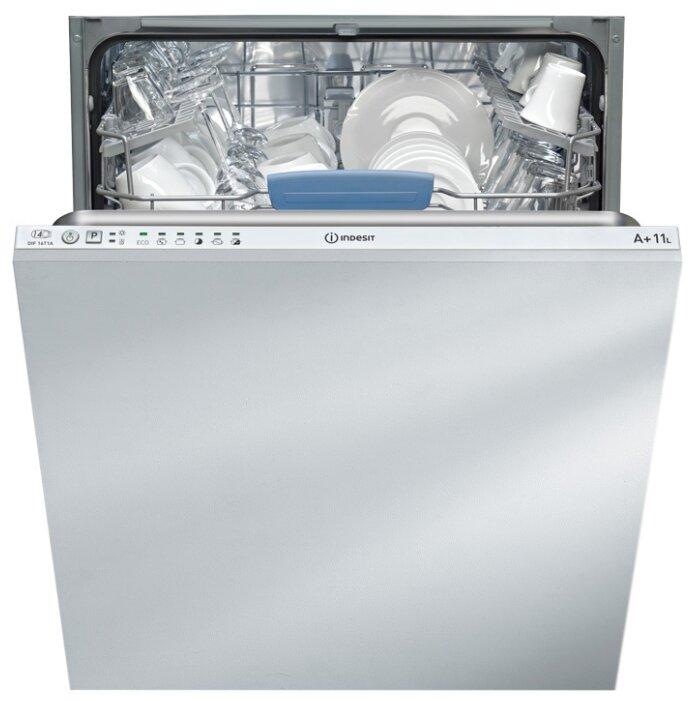 Встраиваемая посудомоечная машина Indesit DIF 16T1 A EU белый