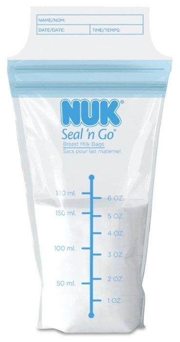 NUK Пакеты для хранения грудного молока 180 мл