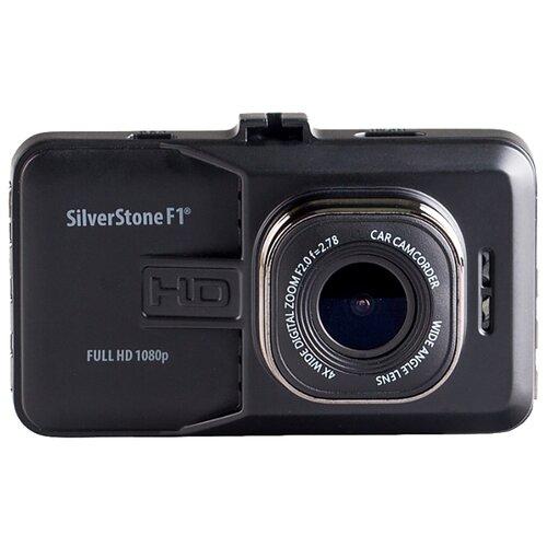 Видеорегистратор SilverStone F1 NTK-9000F черный видеорегистратор silverstone f1 ntk 9500f duo