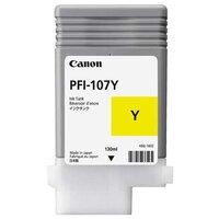 Картридж для Canon imagePROGRAF iPF680, iPF685, iPF780, iPF785 (6708B001 PFI-107Y) (желтый) (130 мл) - Картридж для принтера, МФУ