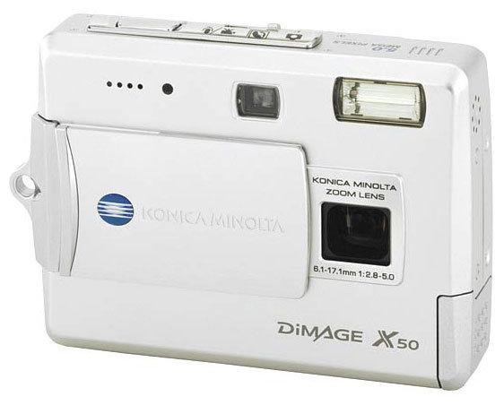 Фотоаппарат Konica Minolta DiMAGE X50