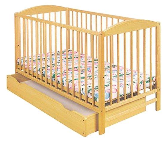 Кроватка Klups Radek 2 (с ящиком)