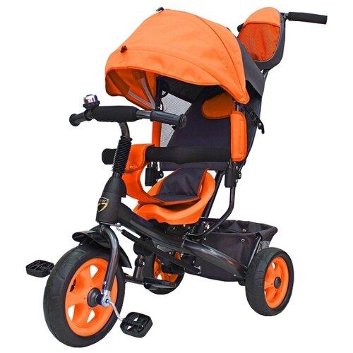 Трехколесный велосипед Galaxy Лучик Vivat оранжевый велосипед аист quest disk 26 рама 16 графит оранжевый