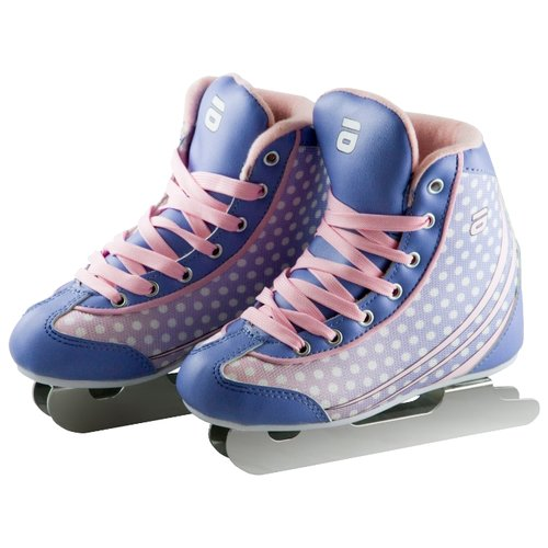 Детские прогулочные коньки ATEMI AKSK-17.08 Ice Baby Girl для девочек, розовый/фиолетовый р. 28