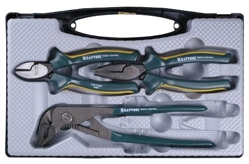 Набор шарнирно-губцевого инструмента Kraftool 22005-H3