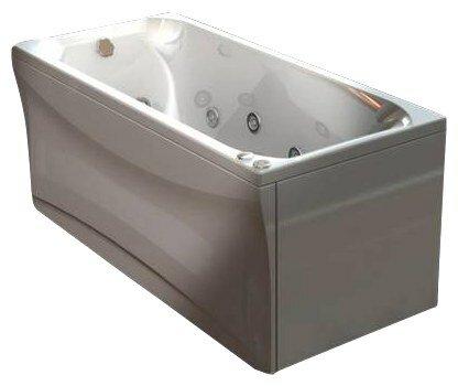 Отдельно стоящая ванна АКВАТЕК Альфа 150х70 HM (пневматика)