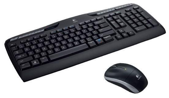 Клавиатура и мышь Logitech Wireless Desktop MK320 Black USB