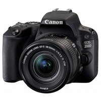 Canon Зеркальный фотоаппарат  EOS 200D Kit