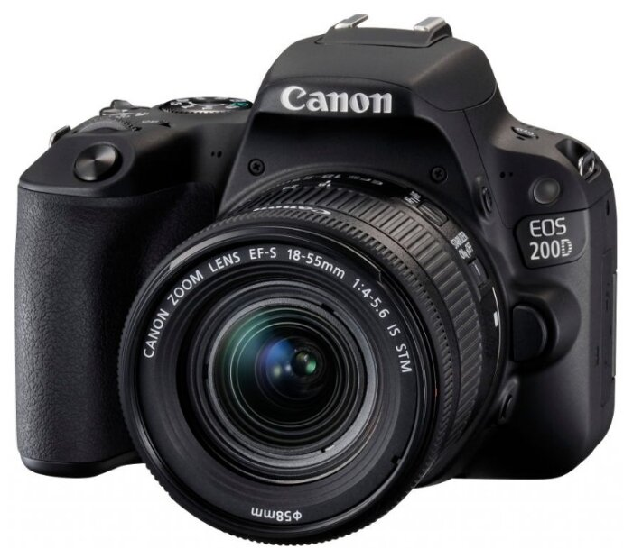 Canon Зеркальный фотоаппарат Canon EOS 200D Kit