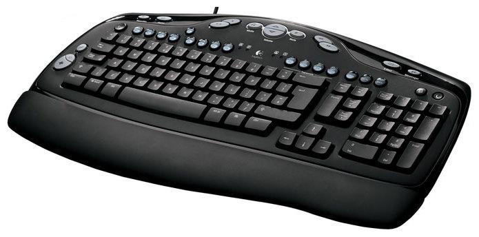 Клавиатура Logitech Media Keyboard 967415 Black PS/2