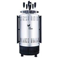 Шашлычница электрическая Kitfort KT-1405 1000Вт нержавеющая сталь серебристый