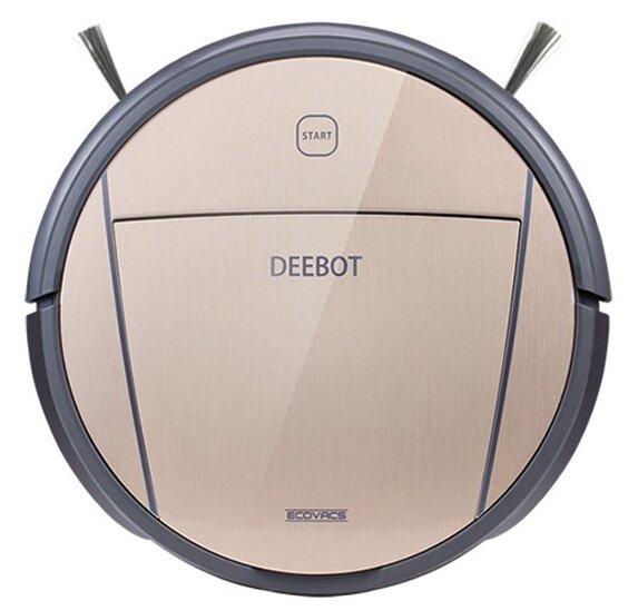 Сравнение с Пылесос робот Ecovacs Deebot D83