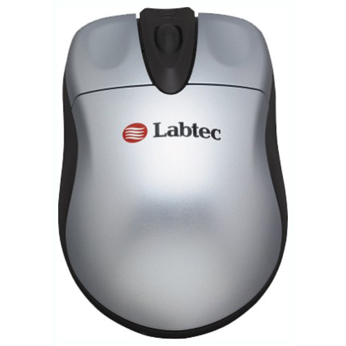 Мышь Labtec Mini Wireless Optical Mouse Silver USB