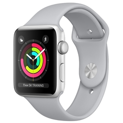 Умные часы Apple Watch Series 3 42mm Aluminum Case with Sport Band