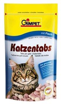 GimPet Katzentabs с рыбой