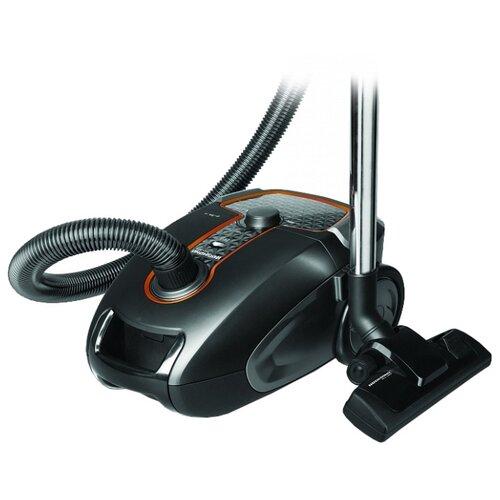 Пылесос REDMOND RV-322 черный/серебристый робот пылесос redmond rv r300 серебристый черный