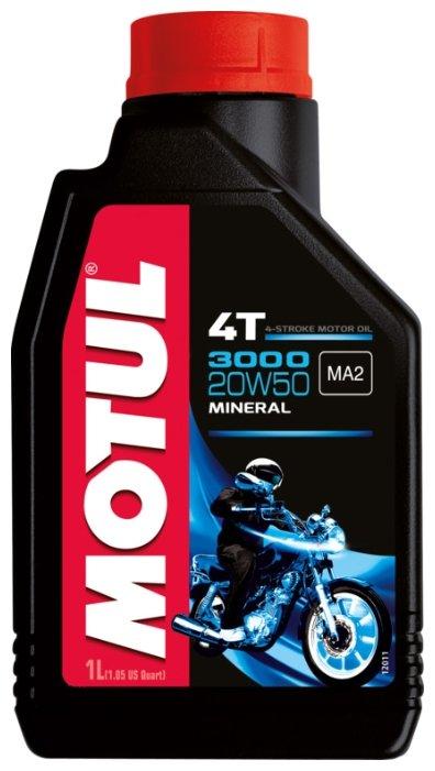 Моторное масло Motul 3000 4T 20W50 1 л